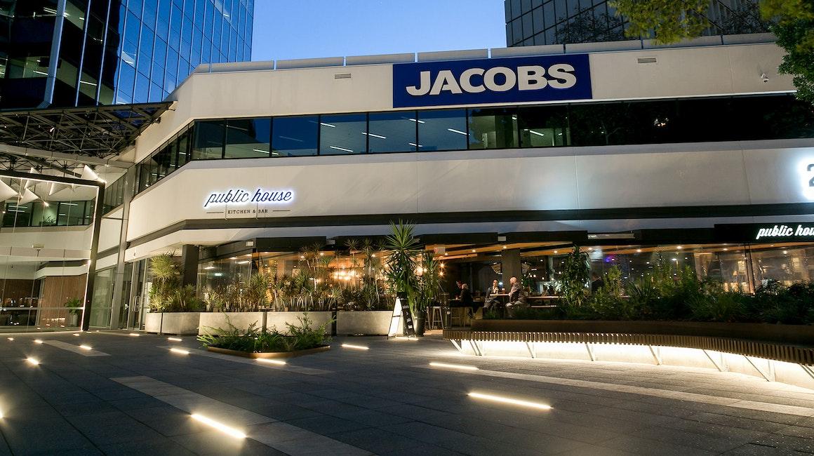 Durack Centre, Perth features Interra inground luminaires.