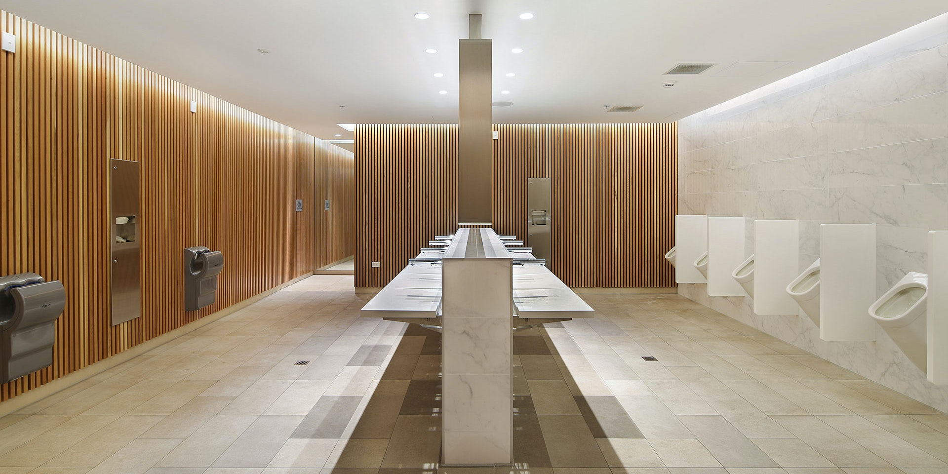 Primo LED strip in application, installed in the Eastland Shopping Centre Amenities.