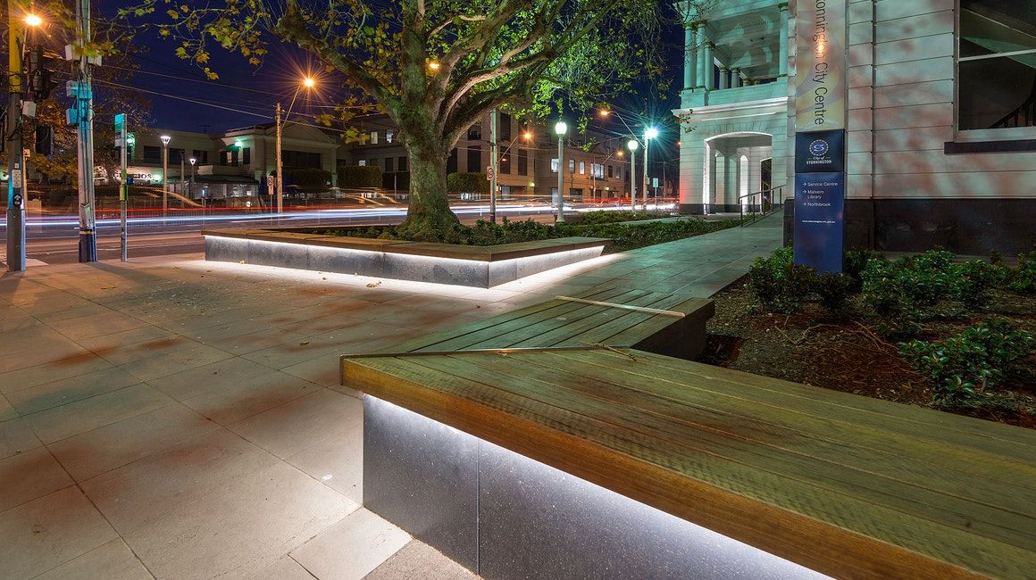 The heritage-listed Late Victorian town hall in the heart Malvern is a well-recognized building for both locals and visitors to the area. Cleverly hidden Multo was installed under the bench seating to give the front of house extra zing.