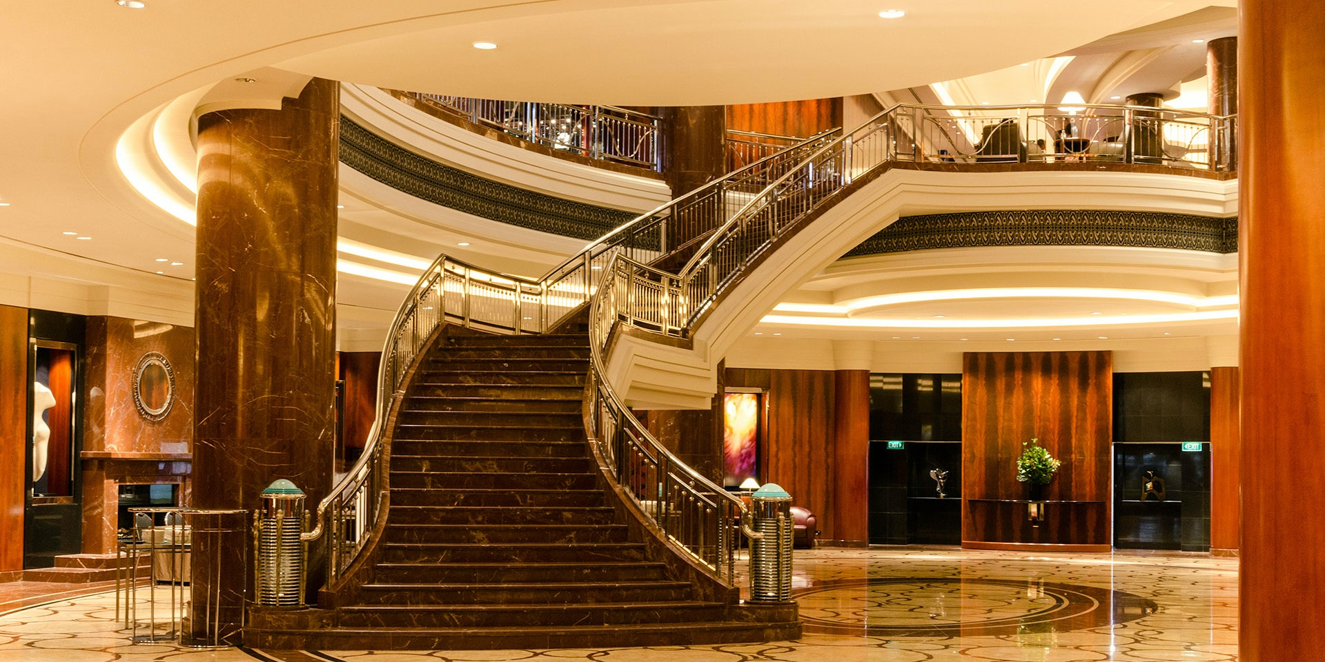 Alto CL Semi-rigid LED strip in application, installed in Park Hyatt hotel in Melbourne.