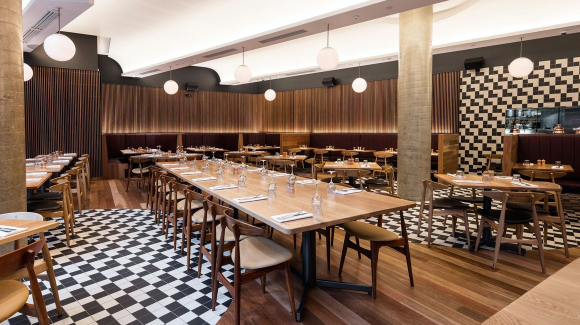 Primo X2 utilised as the cove light in this iconic Queensland restaurant.