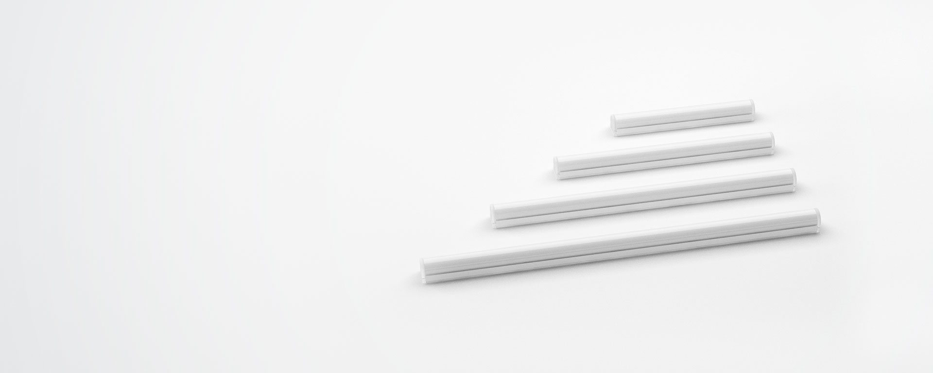 Highly versatile length options allow the user to achieve accurate and adaptable lengths.  Alto can achieve any desired length in 37.5mm increments.