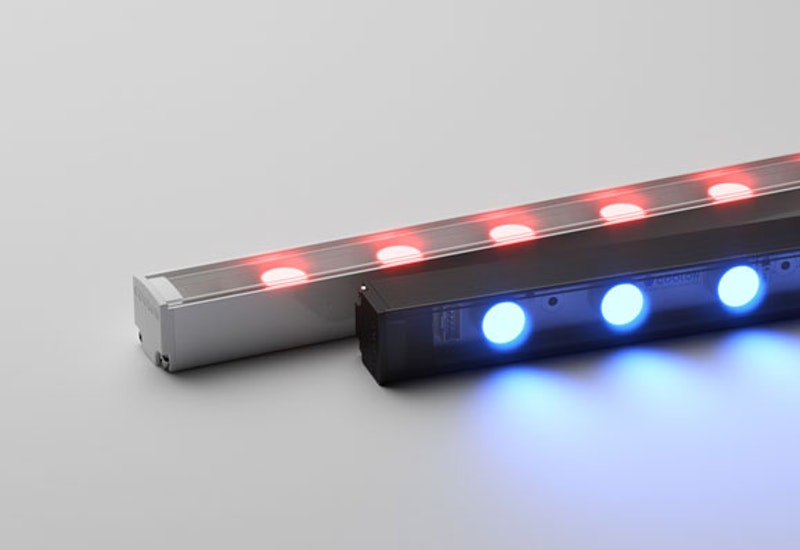 A compact and understated medium-power luminaire with precision optics - available in a range of vibrant, static colours.