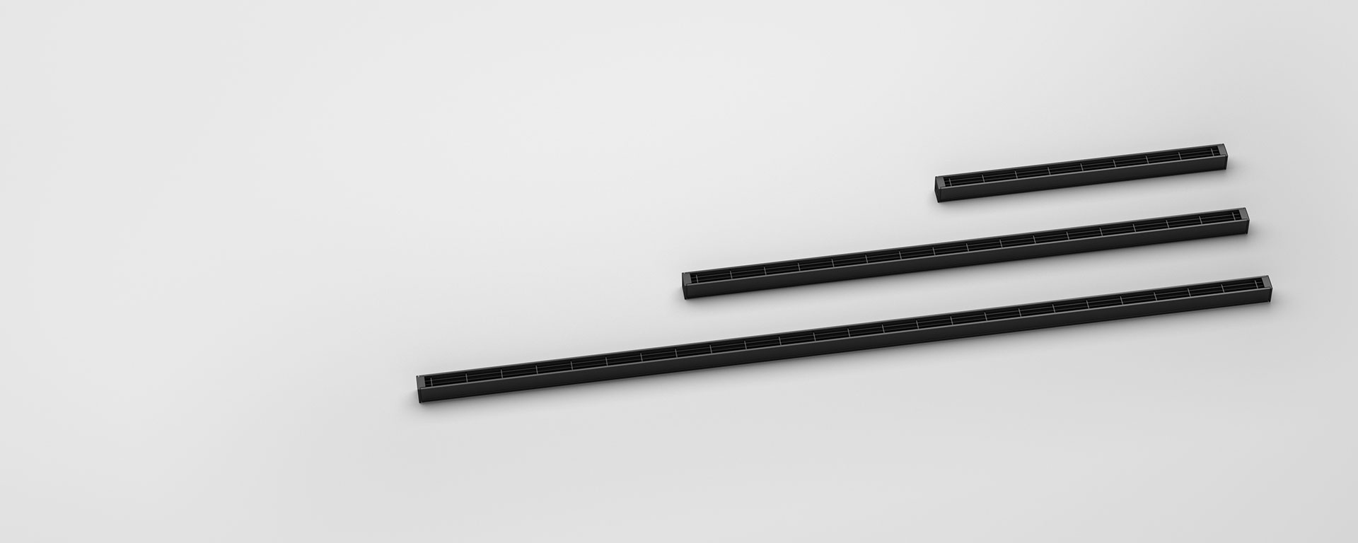 Highly versatile length options allow the user to achieve accurate and adaptable lengths. Forma can achieve any desired length in 37.5mm increments.