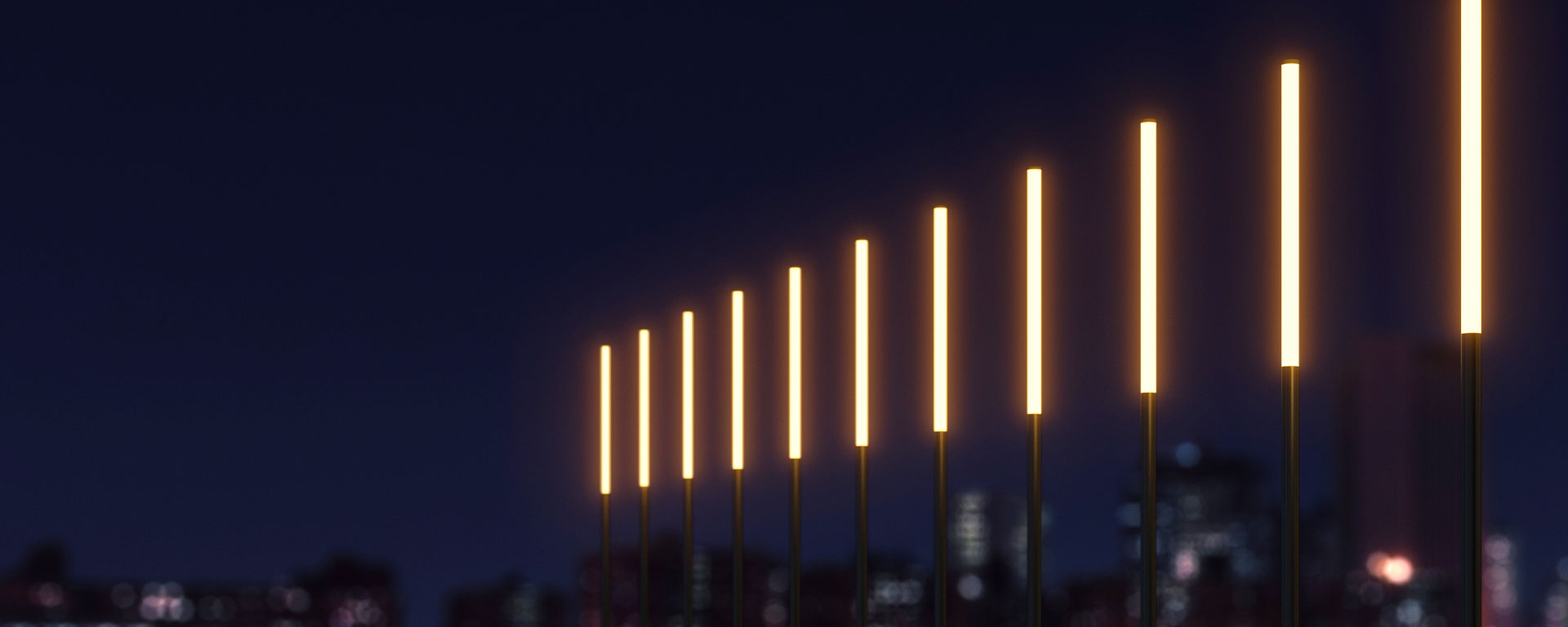 Liverpool is a fully illuminated pole-top light column available in four length options and a range of colour temperatures