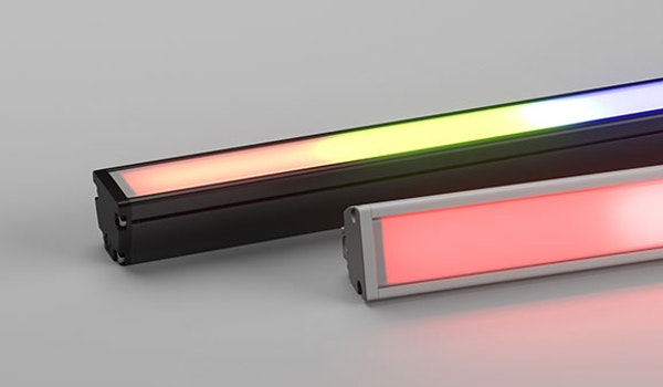 Max Mini Pixel is a compact and versatile architectural colour changing luminaire.The luminaire features dynamic control, with individually addressable 90mm pixels.