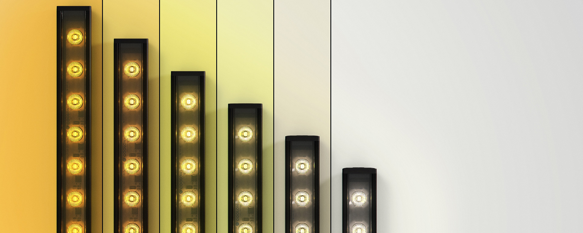 Reproduce and maintain perfect white light ranging from 2700 to 6500k. Colour temperature (CCT) and intensity control made simple.
