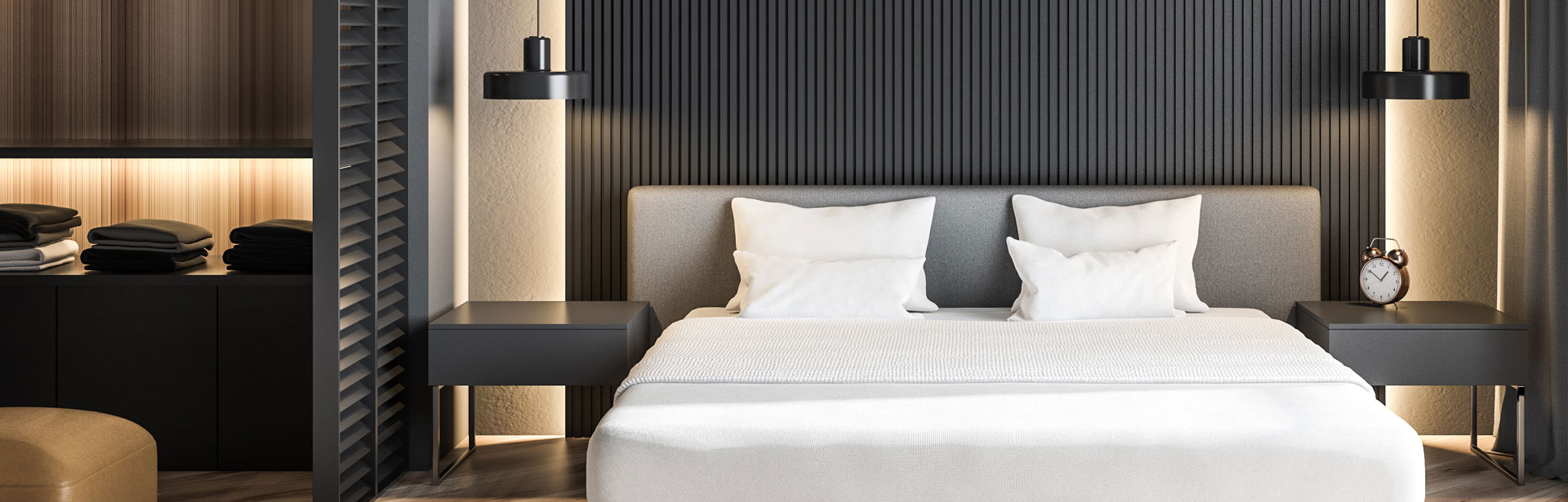 Multo HLED strip offers all the benefits of rigid strip technology but limits the length of the LED strip to under 3 metres - ideal for hotel rooms, cupboards, closets, joinery, kitchens, under the bench andseating applications.