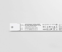 Intelligent power matching thanks to Smart Power Supply Slim form factor for mounting on the cove or in linear luminaires Minimised flicker thanks to high PWM frequency