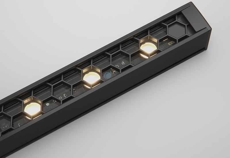 Ratio is our most elegant product that provides inspiring directional light with glare control. Ratio is further enhanced by the availability of 2 wattages (11W and 23W), multiple optics and various lengths.