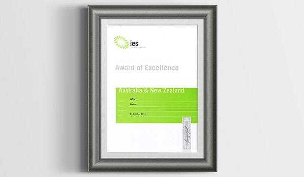 DLK Wins IES AUS/NZ Award