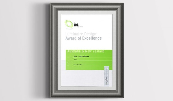 IBYS Wins IES AUS/NZ Award of Excellence