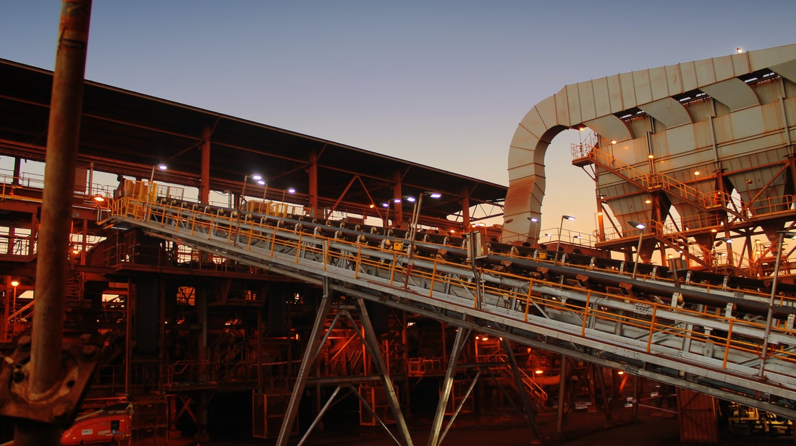 Coolon DLKs light up a major conveyor belt on a port facility near Karratha.