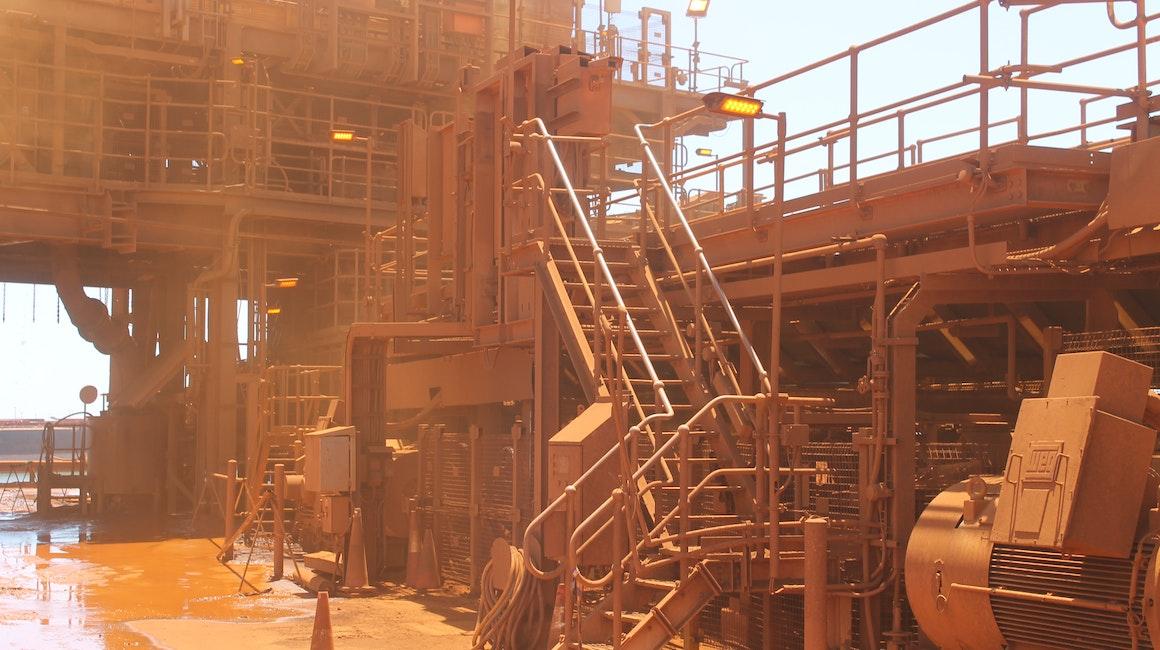 Coolon DLK2 installed on a conveyor in Coastal Pilbara.