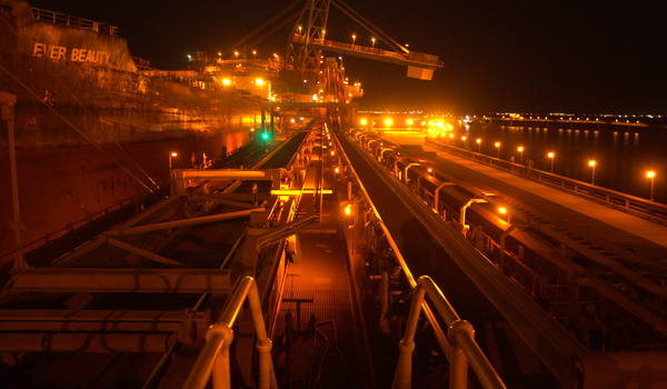 Port Lighting in Coastal Pilbara