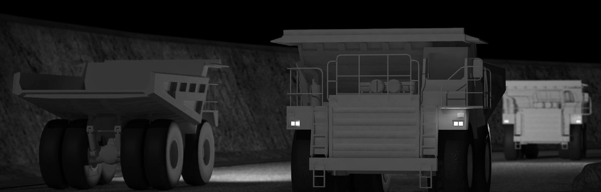 This Lighting Design Simulation Report shows how the light output of a Caterpillar 777D off-highway mining truck can be drastically improved with a CP9 LED Floodlight.