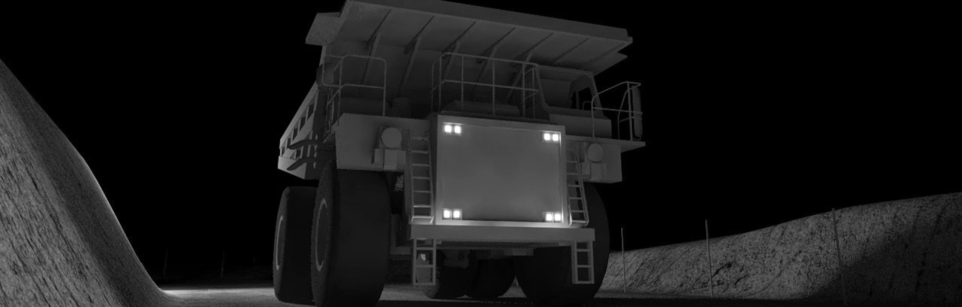 This Lighting Design Simulation Report and explore how the CP9 LED Floodlight transforms the light output of a Caterpillar 789C mining truck.