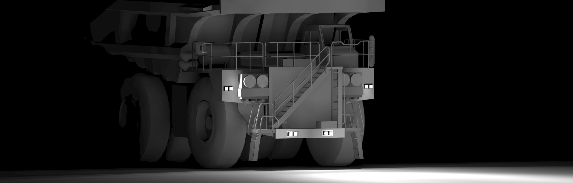 Look through this Lighting Design Simulation Report and explore how the CP9 LED Floodlight transforms the light output of a Caterpillar 793F mining truck.