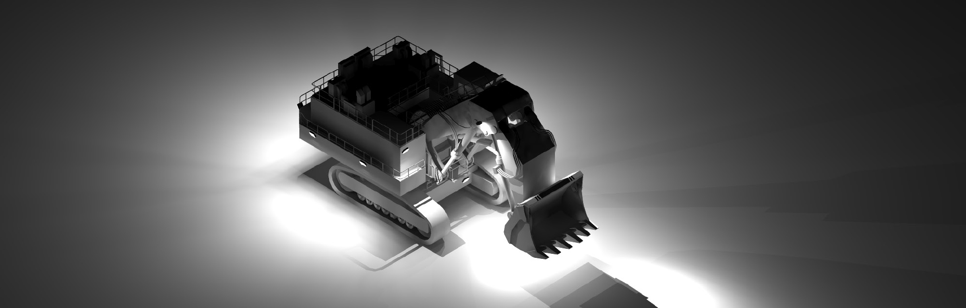 Look through this Lighting Design Simulation Report and explore how Coolon CP56 LED Floodlight improves the light output of a Hitachi EX5500 mining excavator.