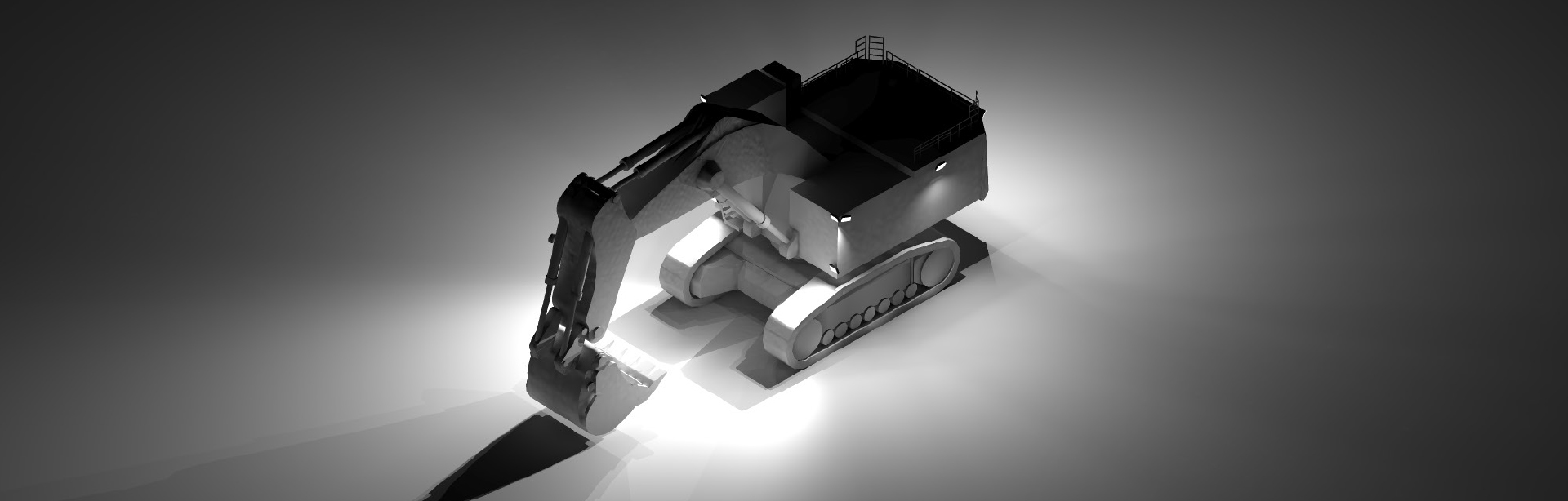 We made this Lighting Design Simulation Report to illustrate how CP9 LED Floodlight boosts the light output of a Liebherr R996 mining excavator.