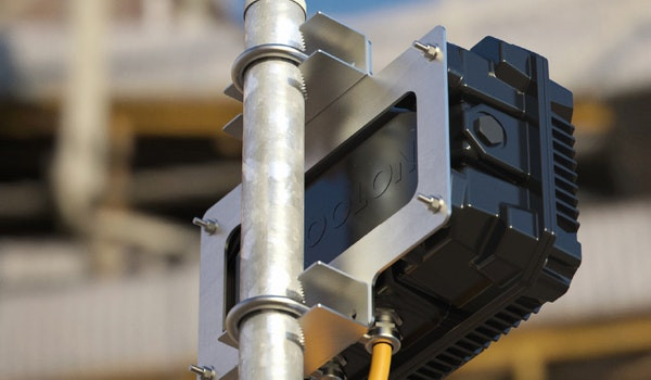 The Bulkhead Pole Mounting Bracket is specifically designed for mounting Bulkhead luminaire on a variety of circular poles that are widely used in the industry.