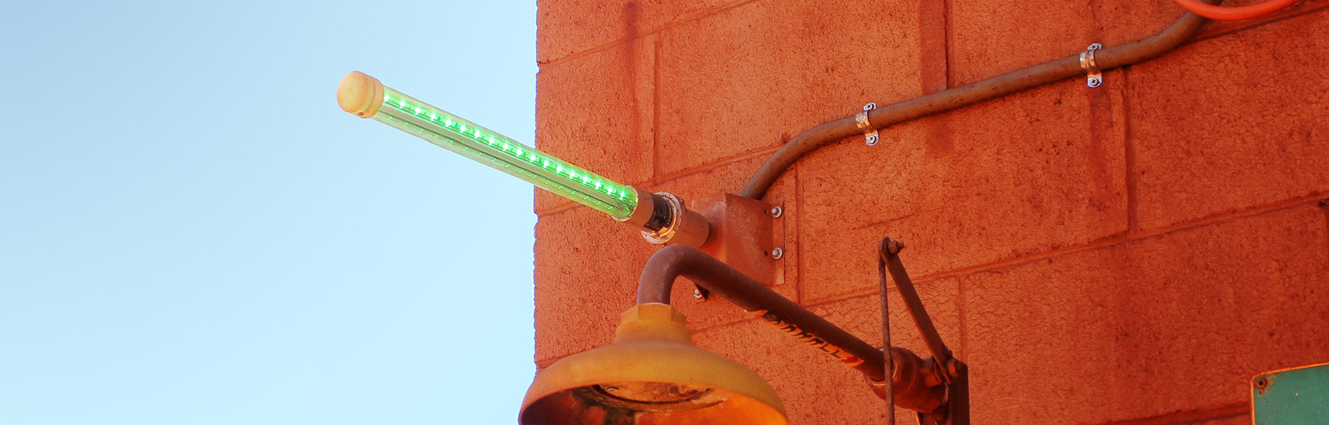 The Wall Mounting Bracket to a Spigot allows spigot mounted lights to be easily installed on any flat surface.