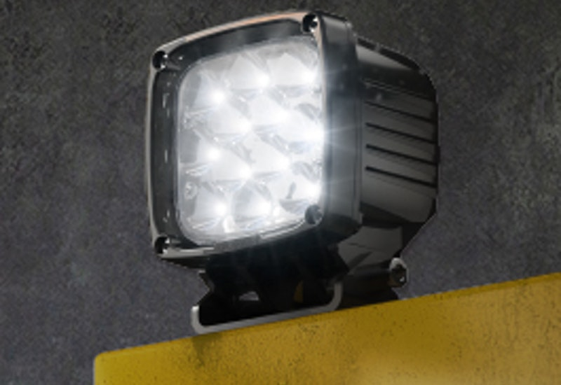 The CP12 LED mining floodlight is a highly efficient, high lumen output mobile plant light that is available in multiple optical variations.