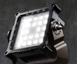 CP34 LED mining floodlight is ideally suited for most situations where bulb maintenance is difficult. Its power supply unit can be positioned separately for easy maintenance.