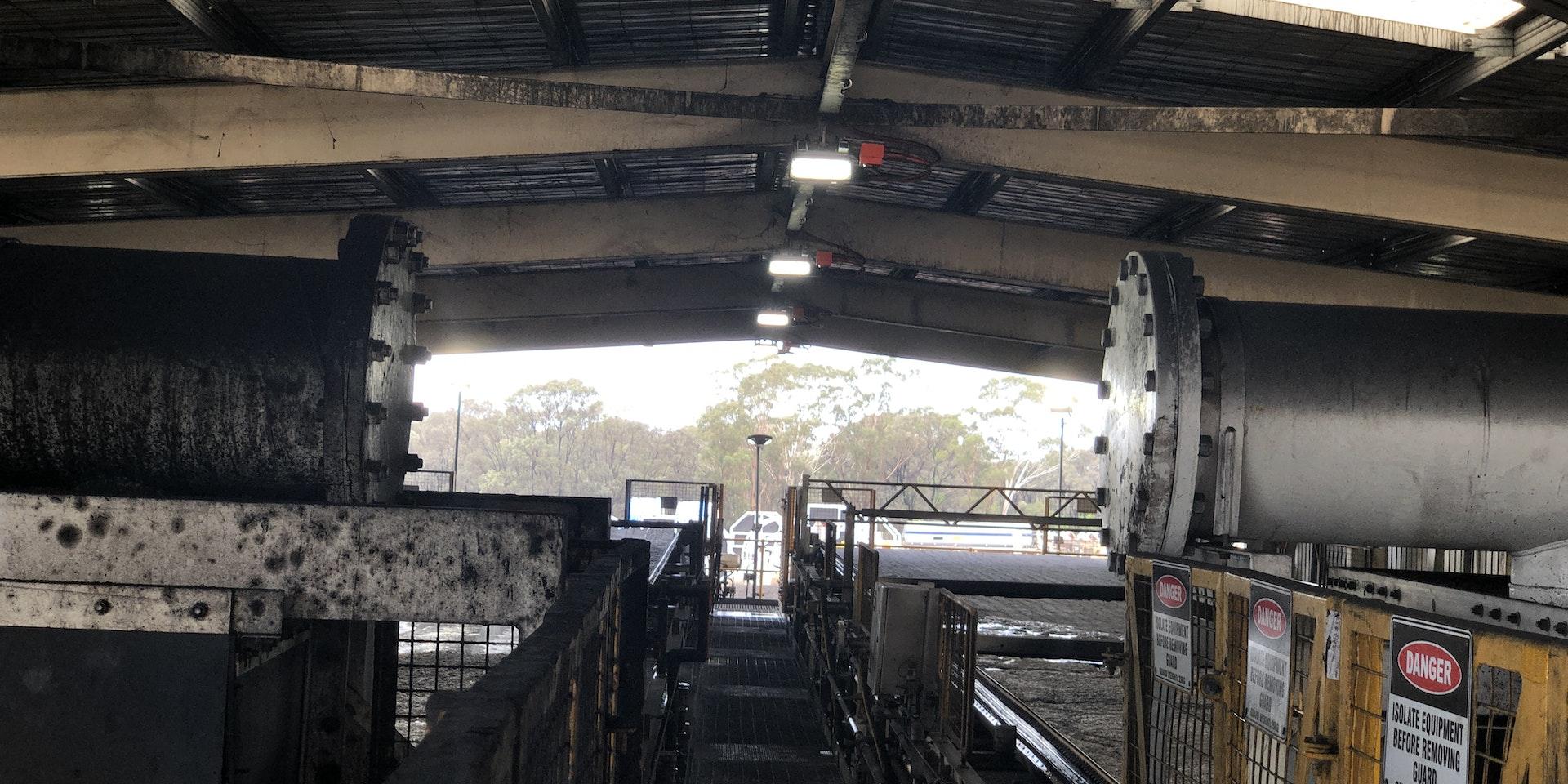 DLK LED Conveyor / Area Light in application