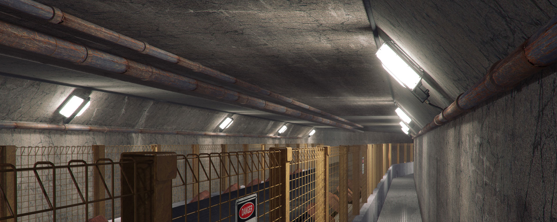 The Ex Tunnel Ray is the perfect choice of luminaire for applications that require:  Energy Efficiency Glare Free High Quality White Light High Colour Rendering Index No Stroboscopic Effect