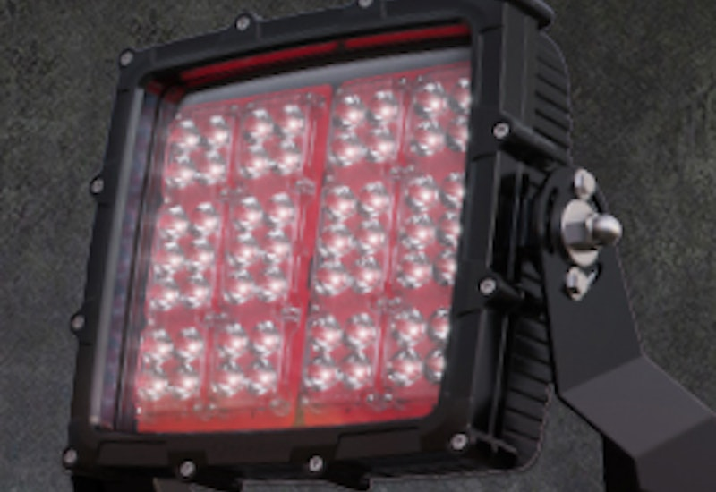 The high lumen output and narrow beam optics of the the HT66 allows a single tower to iluminate extremely large areas. The power supply unit can be positioned up to 50m from the luminaire for easy maintenance.