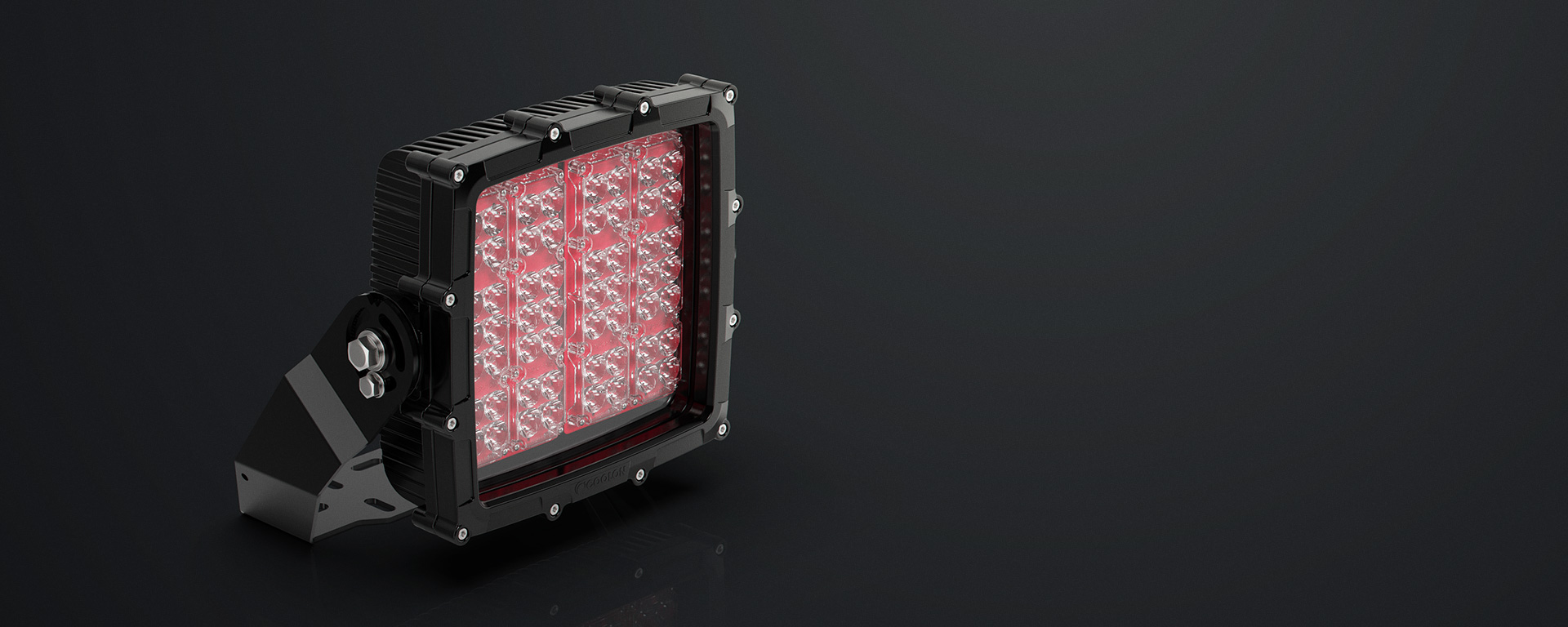 Unlike conventional LED floodlights, the HT66 was designed to withstand constant abuse.