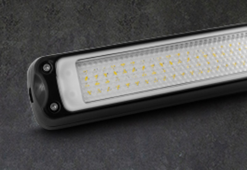 A compact industrial light specifically designed for harsh environments like mobile plant cabins and engine bays.