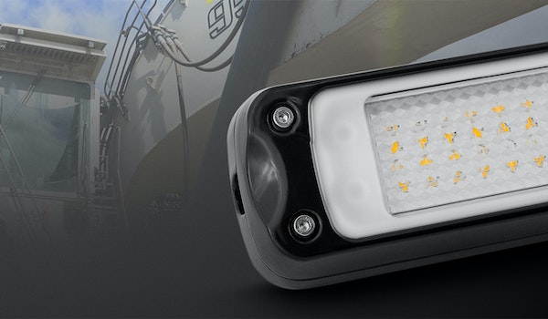 A compact industriallight specifically designedfor harsh environments like mobile plant cabins and engine bays.