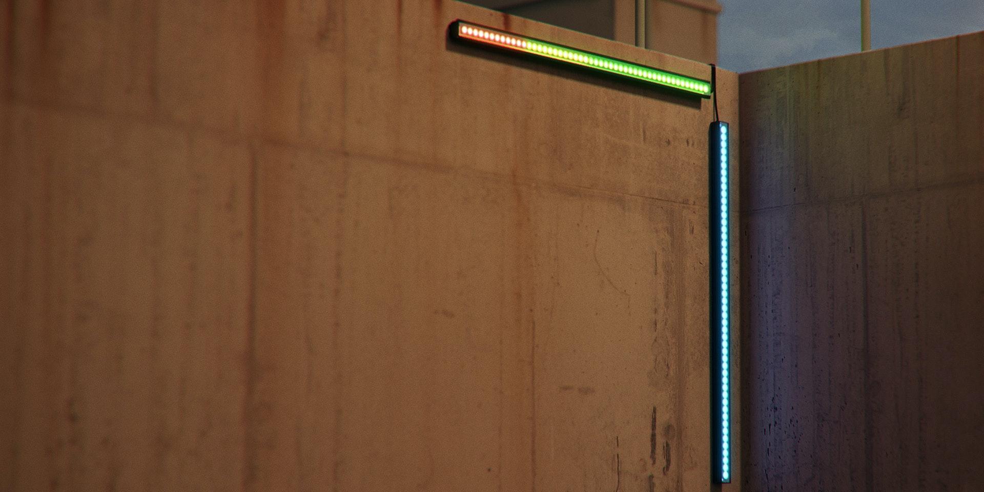 Rom Hopper Bin Indicator - Depth / Distance Indicator Light in application